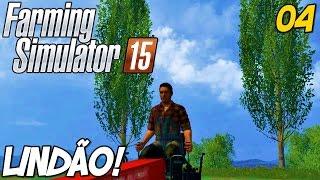Farming Simulator 2015 - Vendendo canola e empinando o trator!