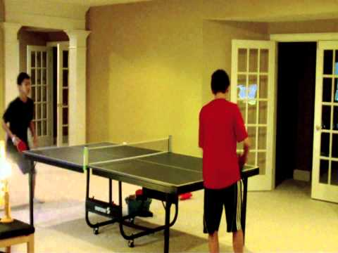 Ping Pong Game Footage - 4/8/11