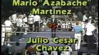 Julio Cesar Chavez Sr. vs Mario Martinez (read description)