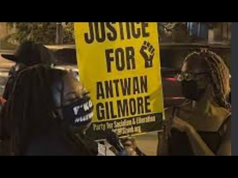 People gather to demand justice for Antwan Gilmore
