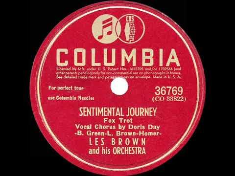1945 HITS ARCHIVE: Sentimental Journey - Les Brown (Doris Day, Vocal) (the Original #1 Version)