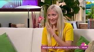 Várkonyi Andrea nem engedte, hogy kislánya fogszabályzót kapjon - tv2.hu/fem3cafe
