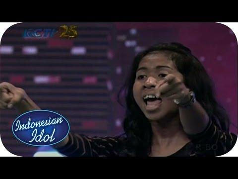 EZA - JANGAN TUSUK DARI BELAKANG (Mahadewi) - Audition 2 (Madiun) - Indonesian Idol 2014