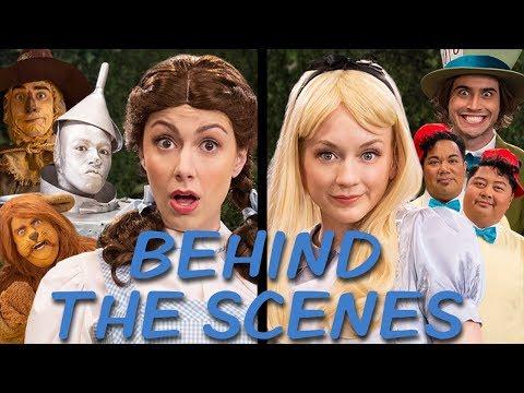 DOROTHY Vs ALICE Behind The Scenes (Princess Rap Battle) *explicit*
