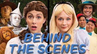 DOROTHY vs ALICE Behind the Scenes (Princess Rap Battle) *explicit* thumbnail