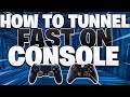 How To Tunnel SUPER FAST On Console! (Fortnite PS4 + Xbox Tips)