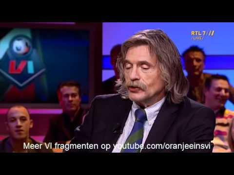 Johan Derksen: Iwan vast aangereden door buitenlander