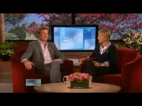 Simon Baker Interview on Ellen 09/23/08