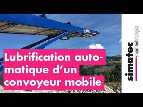 Lubrification Automatique D'un Convoyeur Mobile
