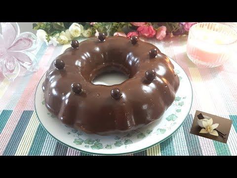 Mouskoutchou au café et chocolat /Easy Coffee Chocolate Cake/ موسكوتشو بالقهوة و الشكولاطة