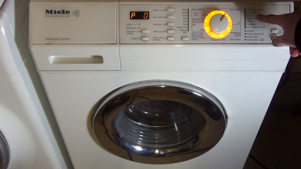 Miele T1 Dryer Beeping