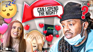 ASKING WOAH VICKY IF I CAN SPEND THE NIGHT!! **It Worked**