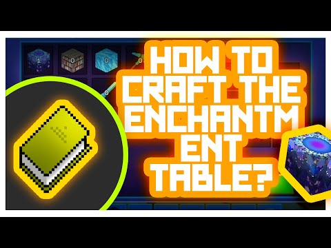 PrimalCraft #GameTutorials - How to Craft Utilities? (Enchantment Table Crafting)
