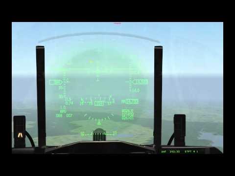 Falcon 4 BMS Tutorial: Instrument Landing System (ILS) and Landing Basics
