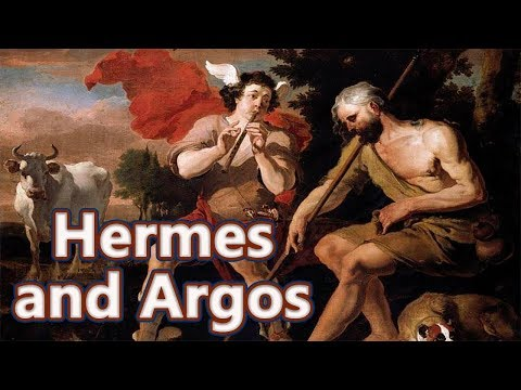 Hermes and Argos  (Zeus and Io) Greek Mythology Ep.42 See U in History