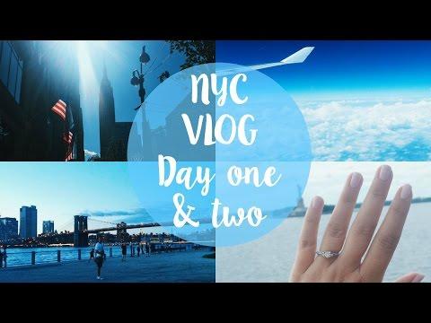 NYC VLOG  Day 1 & 2 I Dizzybrunette3