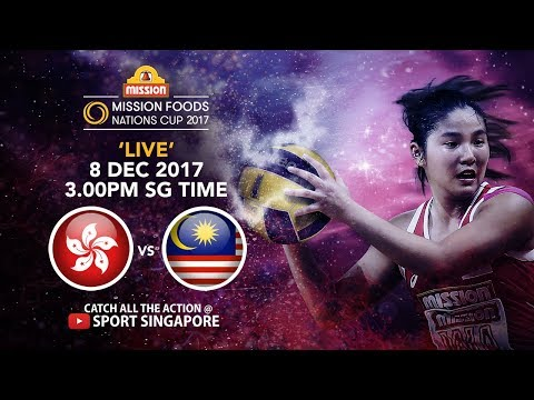 Hong Kong 🇭🇰  vs 🇲🇾 Malaysia   Mission Foods Nations Cup 2017