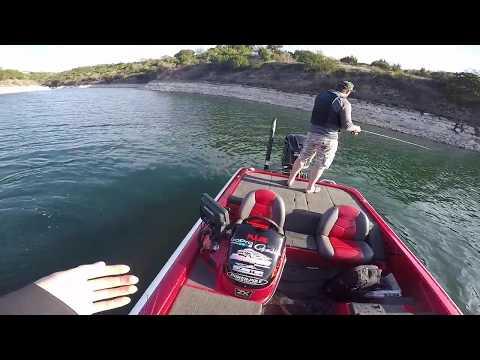 EPIC Ned Rig Fishing- Lake Travis