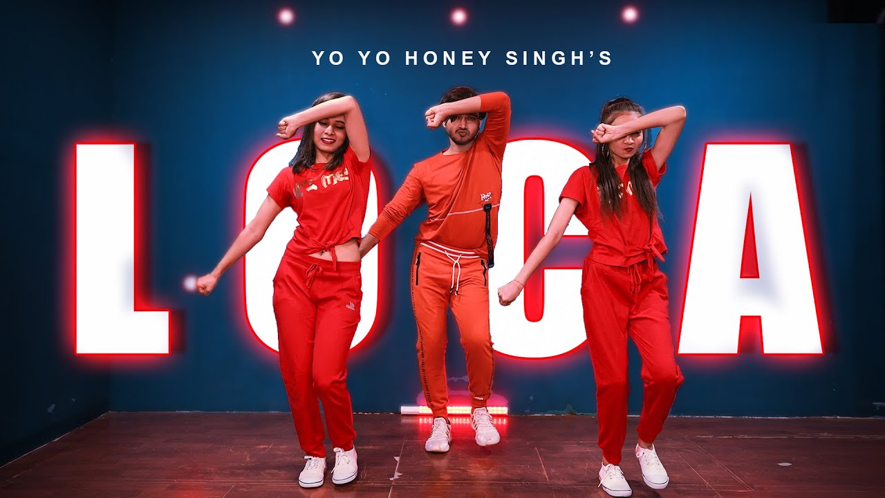 LOCA DANCE Video | YO YO Honey Singh | Vicky Patel Choreography | Hip Hop