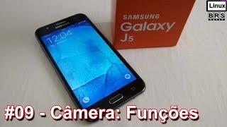 Samsung Galaxy J5 - Câmera (funções) - Português