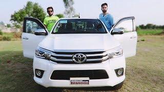 All New 2018 Toyota Hilux Revo 2.8L Review| Startup| Pakistan