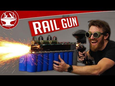 Making a RAILGUN and then TESTING it!