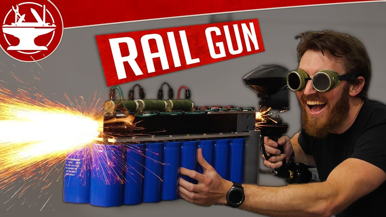The Hacksmith: Making a Charging Circuit for a Railgun