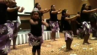 Leiato girls doing the minoi minoi minoi dance for the reunion (: