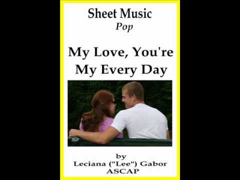 Trailer for Sheet Music My Love, You're My Every Day