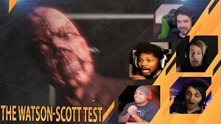Gamers Reactions to the JUMPSCARE | The Watson-Scott Test