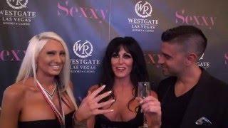 Sexxy Show, Jennifer Romas, Michael Sartain, Tiffinie Tee, DJ Liz Clark