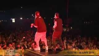 Parazitii feat. Adrian Despot LIVE @ Zilele Prieteniei Bergenbier, Cluj-Napoca 2014 - Arde