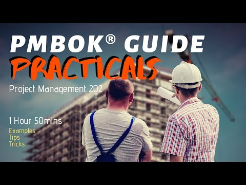 Project Management - Practical Application - PMP Exam Basics (WBS, MS Project & More)