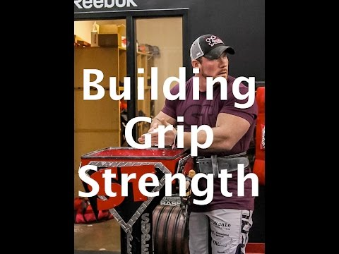 Two kinds of Grip Strength – Crush and Pinch