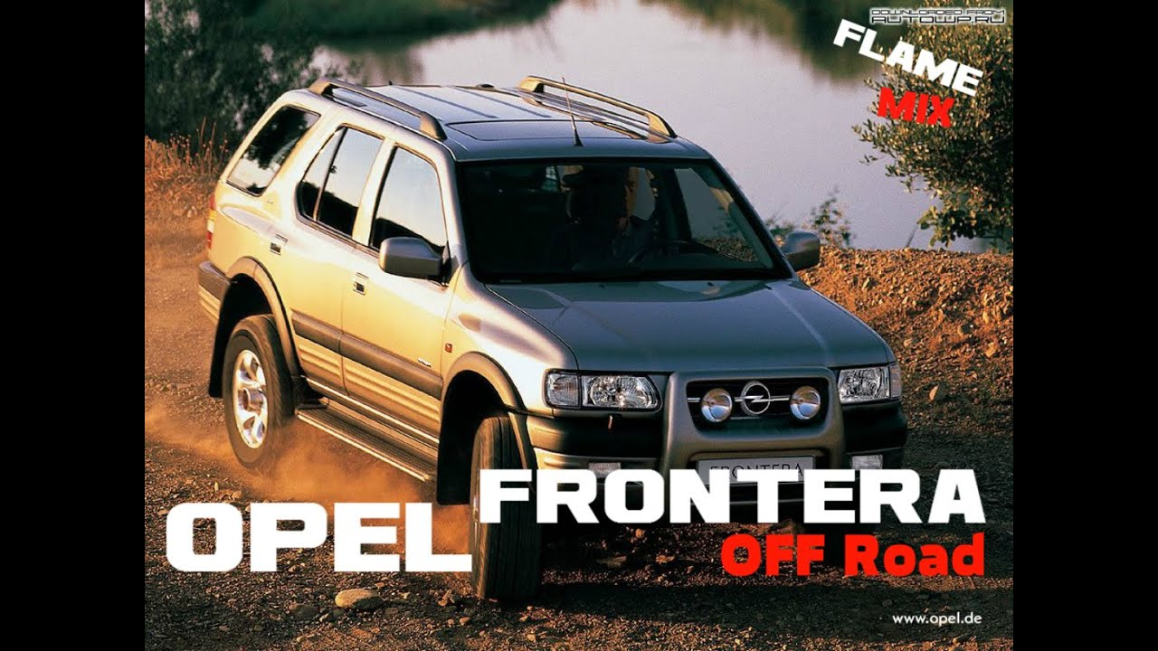 opel frontera off road 4x4 trial youtube. Black Bedroom Furniture Sets. Home Design Ideas