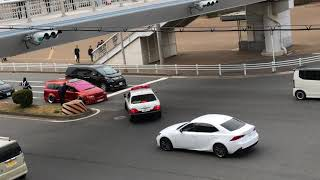 名古屋オートトレンド2018パトカーに捕まるオデッセイ thumbnail