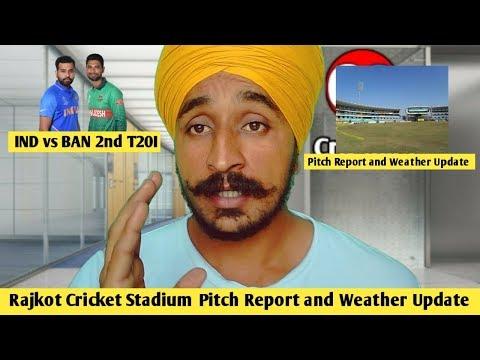 rajkot-cricket-stadium- -pitch-report- -weather-report- -india-vs-bangladesh-2nd-t20-2019-#indvban