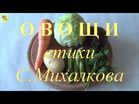Овощи. Стихи С.Михалкова  [мультфильм]