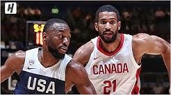 USA vs Canada - Full Game Highlights | August 26, 2019 | USA Basketball
