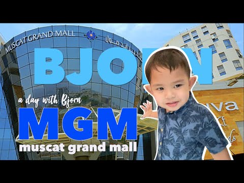 MUSCAT GRAND MALL | MGM | ANIMALS | A DAY WITH BJORN