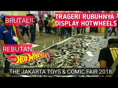 GAGAL HADIR DI HARI PERTAMA JAKARTA TOYS & COMICS FAIR 2018 - RUBUHNYA STAND HOTWHEELS
