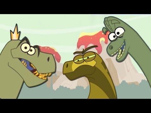 Dinosaurs Facts & Fun Dinosaurs Cartoon Videos for Children | HooplaKidz TV