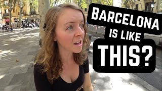 Things That SHOCKED US About Barcelona, Spain