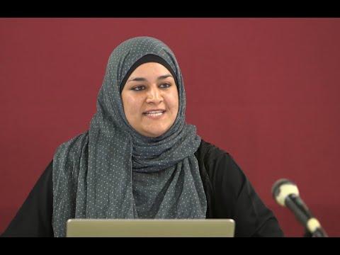 Women & Leadership in Islam. Lecture by Zara Faris in New Zealand