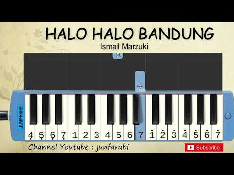 Not Pianika Halo Bandung - Belajar Pianika
