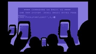 Fairlight & Offence & Prosonix - Scrollwars - C64 Demo (50 FPS)