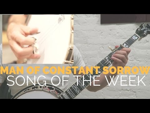 Man of Constant Sorrow by Ron Block [Song of the Week Series]