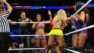 Emma, Eva Marie, Natalya & The Funkadactyls vs Aksana, Layla, Alicia Fox, Summer Rae & Tamina