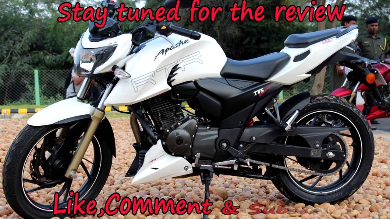 Buying A Brand New Bike Tvs Apache 200 4v Youtube