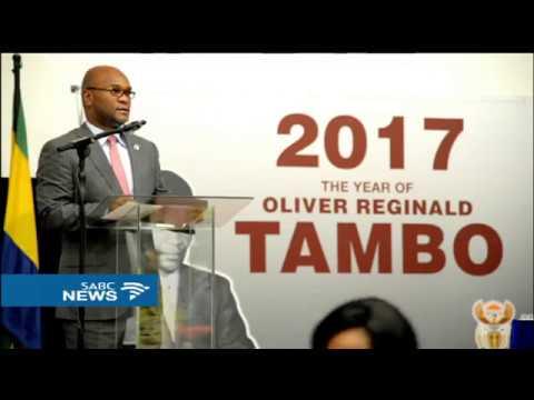 Gabon honours Oliver Tambo